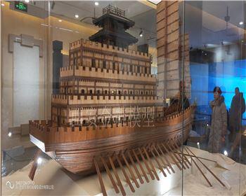 昆明池汉代楼船必威中国
